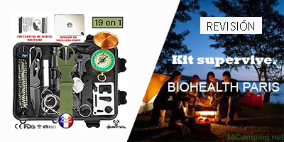 kit de supervivencia BIOHEALTH PARIS