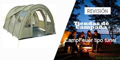 CampFeuer tipo túnel