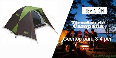 Geertop para 3-4 personas